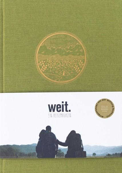"""WEIT. Ein Reisemagazin (Sonderausgabe: """"WEITERGEBEN"""" mit Extrakapitel)"""